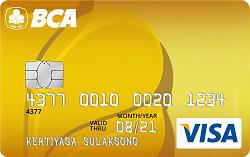 BCA Visa Gold