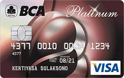 Kartu Kredit Bca Visa Platinum Fulus