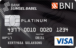 BNI-Bank SumselBabel Card Platinum