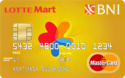 BNI-LOTTEMart Card Gold