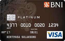 BNI Visa Platinum Card