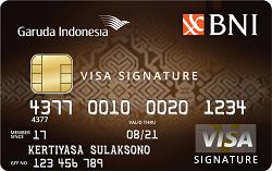Garuda-BNI Visa Signature Card