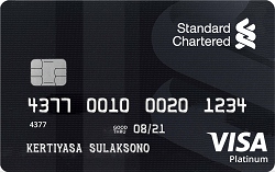 Standard Chartered Visa Black Platinum