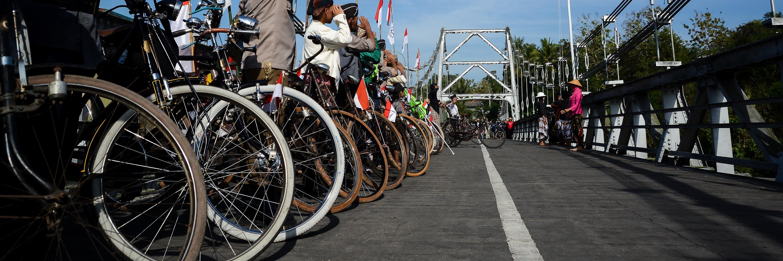 Bersepeda, Solusi tanpa Polusi
