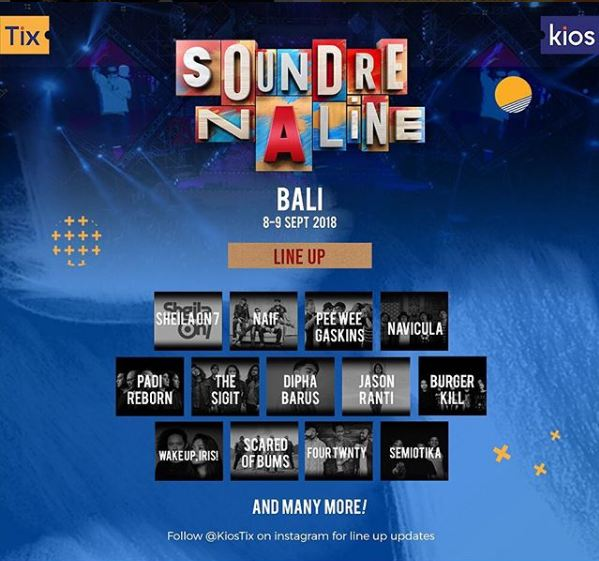 Warna Baru Soundrenaline 2018