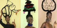 15 Kreasi bentuk rambut seniman ini anti mainstream abis