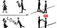 23 Komik ini buktikan jika bahasa cinta tak hanya dengan kata-kata