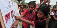 5 Suku pedalaman ini juga ikut merayakan pesta demokrasi 2019