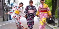 Kimono, busana tradisional Jepang sejak ratusan tahun silam