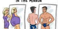 7 Ilustrasi ini tunjukkan perbedaan antara cowok dan cewek, bener gak?