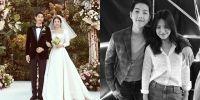 Pasangan artis Korea Selatan, Song Song couple resmi bercerai hari ini