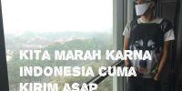 7 Meme sindir kabut asap yang terjadi di Indonesia ini nyesek banget