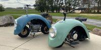 Volkspod, sepeda motor yang dibuat dari mobil klasik VW Beetle