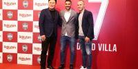 David Villa putuskan pensiun dari dunia sepak bola