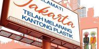Plastik dan Jakarta pada tahun 2020