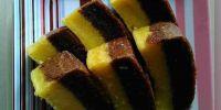 Resep mudah membuat kue lapis kentang kukus sederhana