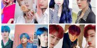 Sempat populer, 10 warna rambut idol K-Pop ini layak dicoba