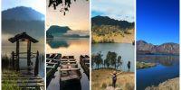 Inilah 4 danau di pegunungan Indonesia yang paling fenomenal