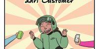 Komik ini gambarkan 9 tip yang diterima driver ojol dari customer
