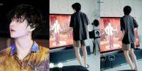Video #StayAtHomeChallenge V BTS dibagikan oleh Kementerian di Korsel