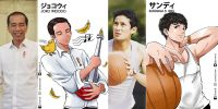 18 Ilustrasi anime publik figur Indonesia karya Chancil ini keren abis