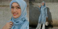 10 Potret Ana Riana 'Rinjani TOP' saat berhijab, cantik dan memesona