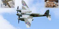 Mengulik sejarah dan desain Mosquito Aircraft pada Perang Dunia II