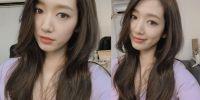7 Potret selfie Park Shin-hye, si manis yang eksis abis