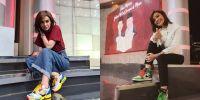 15 Potret kasual Najwa Shihab gunakan sepatu sneaker, bikin salfok