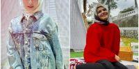 5 Potret Amanda Manopo saat pakai kerudung, cantik memesona
