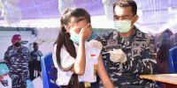4 Klasifikasi warga prioritas penerima 1300 vaksin dari Lantamal VIII
