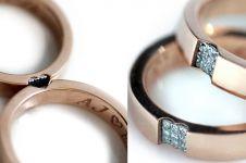 Desain cincin pernikahan yang simpel nan elegan untuk hari bahagiamu