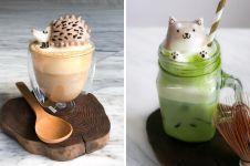 Remaja 17 tahun bikin karya seni 3D dari latte, keren banget