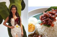 Bertema makanan khas negara, gaun Miss Malaysia hebohkan warganet