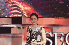 11 Potret Tatjana Saphira di Seoul International Drama Awards 2018