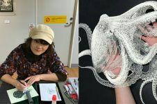9 Karya seni papercut bertema hewan ini begitu memukau