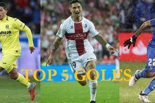 Inilah pemain dengan gol terbaik versi La Liga di tahun 2018