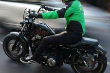 7 Helm driver ojek online ini absurdnya bikin kamu ketawa ngakak