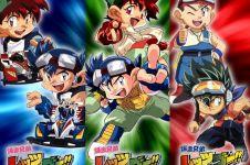 7 Kartun adaptasi mainan Jepang ini pernah tayang & tenar di Indonesia