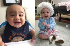 15 Tingkah lucu bayi yang seperti orang dewasa ini gemesin abis