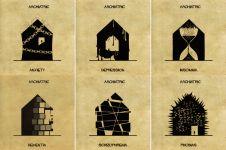 Archiatric, mengenal 16 gangguan kejiwaan lewat ilustrasi arsitektur