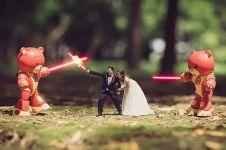 20 Editan foto pre-wedding ini bisa jadi rekomendasi, hasilnya epik