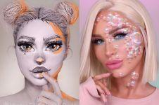 10 Seni make up ini keren banget, hasilnya terlihat seperti nyata