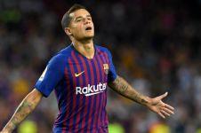 Dibidik MU, Philippe Coutinho mengaku bahagia di Barcelona
