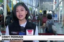 Reporter ini mendadak viral setelah meliput aksi 22 Mei