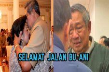 Sang istri tutup usia, potret SBY berlinang air mata ini bikin haru
