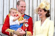 10 Potret lucu Prince Louis saat perayaan Trooping The Colour