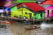 Dulu kumuh, 5 kampung ini kini menjadi tempat wisata warna-warni
