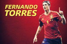 Pensiun dari dunia sepak bola, ini 5 fakta menarik Fernando Torres