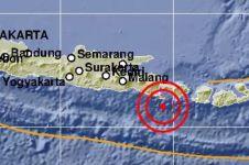 Sehari pasca simulasi, sekolah di Bali ini diguncang gempa sungguhan